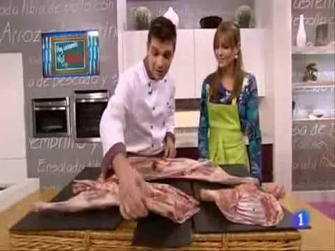 El ternasco de arag n en el programa cocina con sergio - Cocina con sergio pepa ...