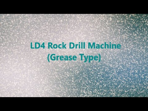 Somani slim drill LD4 rock drill machine (grease type)