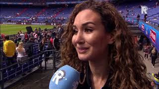 Bouchra Van Persie: 'Niet over Robins beslissing bij Feyenoord gehad'