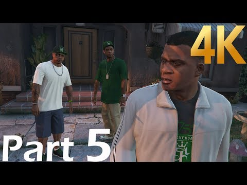 GTA V 2018 Campaign (4K HDR) Gameplay Walkthrough Part 5(XBOX ONE X)