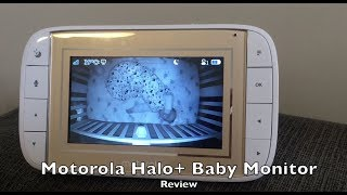 Motorola Halo+ Baby Monitor blogger review