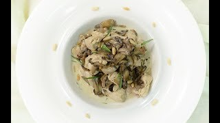 Kremalı Tavuklu Mantar Tarifi - Semen Öner - Yemek Tarifleri