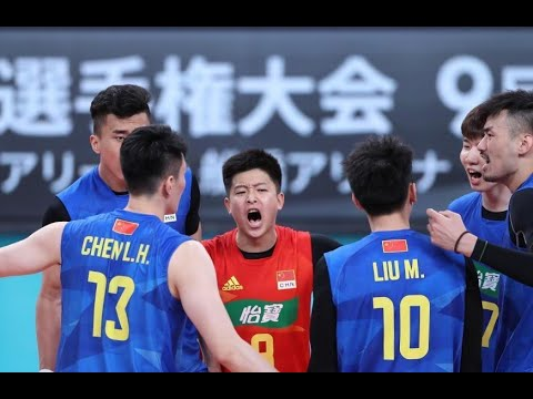 China vs. Japan  2021 Tokyo Men Volleyball Challenge Cup Game 1