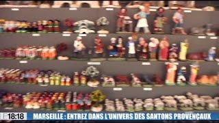 La foire aux santons débute sur le Vieux-Port de Marseille à l'approche des fêtes de Noël
