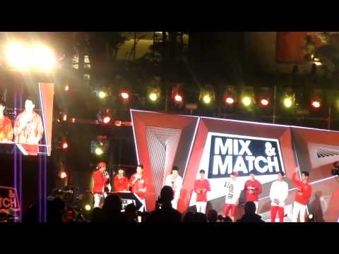 KS9 - iKon Just Another Boy @ Mix and Match Seoul Fan Meeting [141017 Fancam]