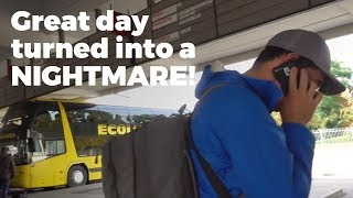 Started great in Lithuania, ended up in ...??? Travel Vlog Day #83