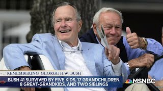 Honoring President George H.W. Bush's Legacy And Final Words | MSNBC