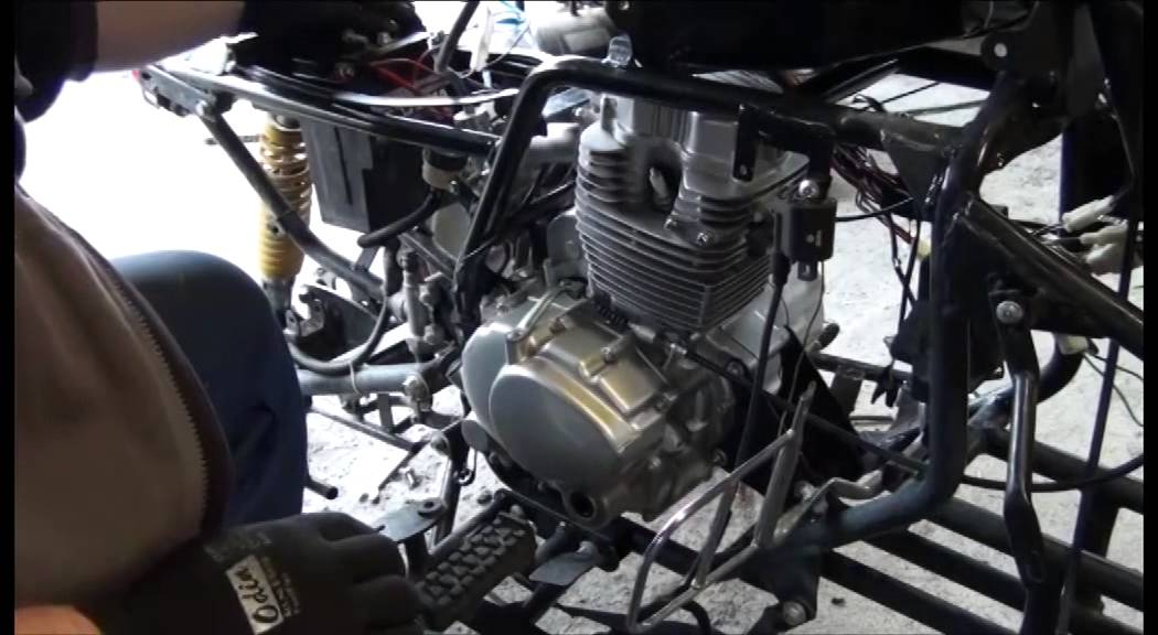 Chinese ATV 200 Engine and Electric Quick Fix Part 2 - YouTube