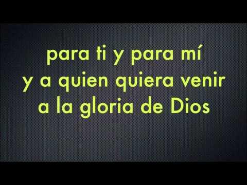 Descargar Video La gloria de Dios Karaoke