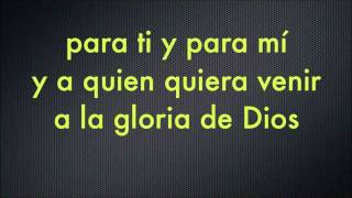 La gloria de Dios Karaoke