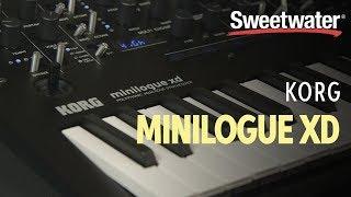 Korg Minilogue XD Polyphonic Analog Synth Demo — Daniel Fisher