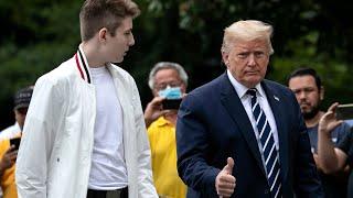 video: Melania Trump says son Barron tested positive for coronavirus