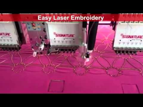 Signature Easy Laser Embroidery machines