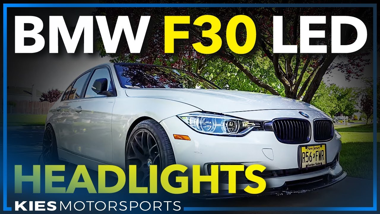 Test Bmw F30 Led Headlights What Do You Think Fits 328 320