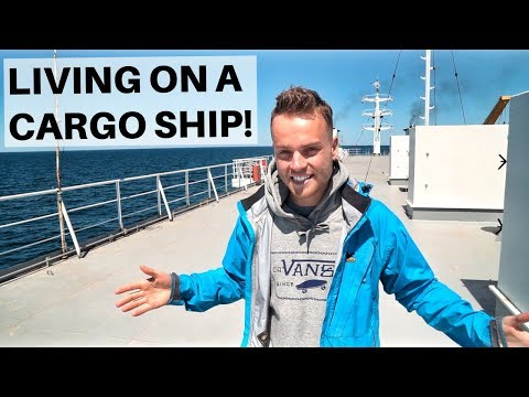 LIVING ON A CARGO SHIP -  Caspian Sea Ferry