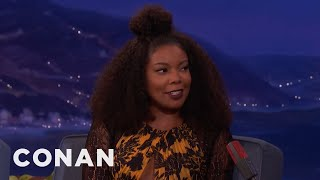 "Gabrielle Union's Mother Doesn't Approve Of ""Being Mary Jane""  - CONAN on TBS"
