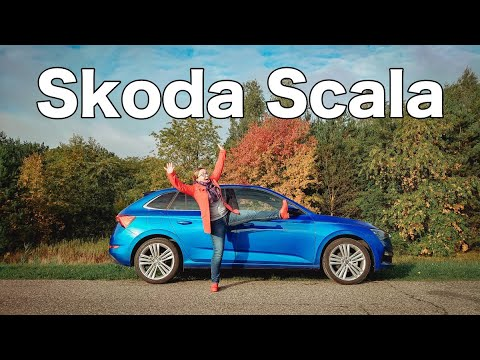 Skoda Scala - test and review - woman's look at cars
