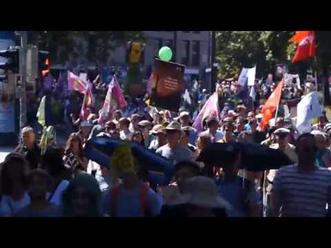 G7-Demo: 40.000 bei der größten Münchner Demo seit Jahrzehnten