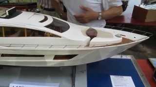 MCCR 2015 RC :  Le mega yacht Lazzara LSX 92 de Bernard  - Modélisme naval radiocommandé