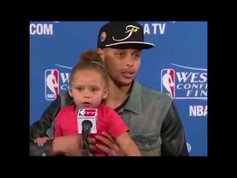 Riley Curry way up I feel blessed VINE 2015