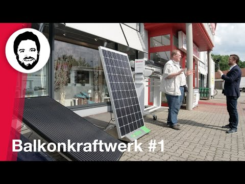 Balkonkraftwerk #1 - Energiewende Kann Jeder! Mini-PV Erklärt Von Holger Laudeley!