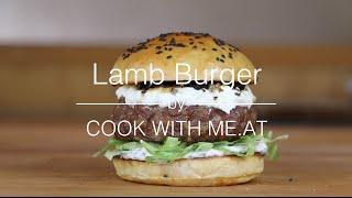 Lamb Burger - Grilled Lamb Burger Recipe - COOK WITH ME.AT