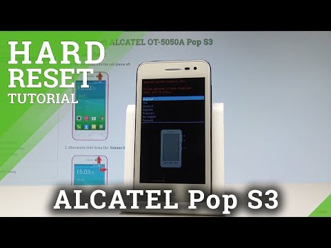 How to Hard Reset ALCATEL Pop S3 - Bypass Screen Lock / Wipe Data |HardReset.Info