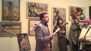 впервые в Кировограде  выставка картин НЮ