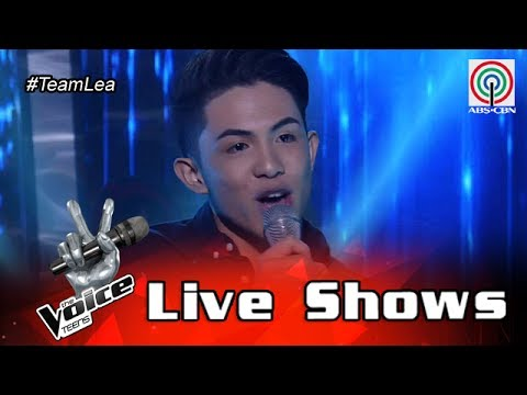 The Voice Teens Philippines Live Show: Chan Millanes - Overjoyed