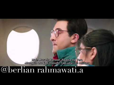 Lirik & Terjemahan (indonesia) Lagu Musafir | Jagga Jasoos | Ranbir | Katrina.