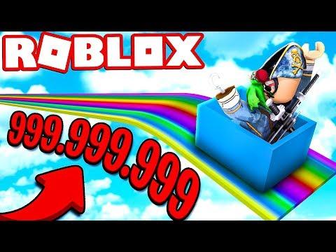 LO SCIVOLO DA 999.999.999 METRI DI ROBLOX