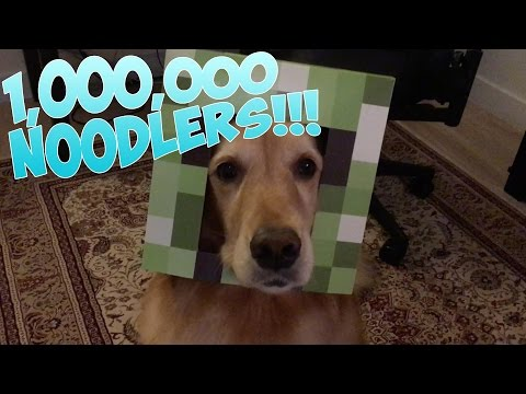 1,000,000 Noodlers Video Special - Office Tour, Giveaway, Fan Art!