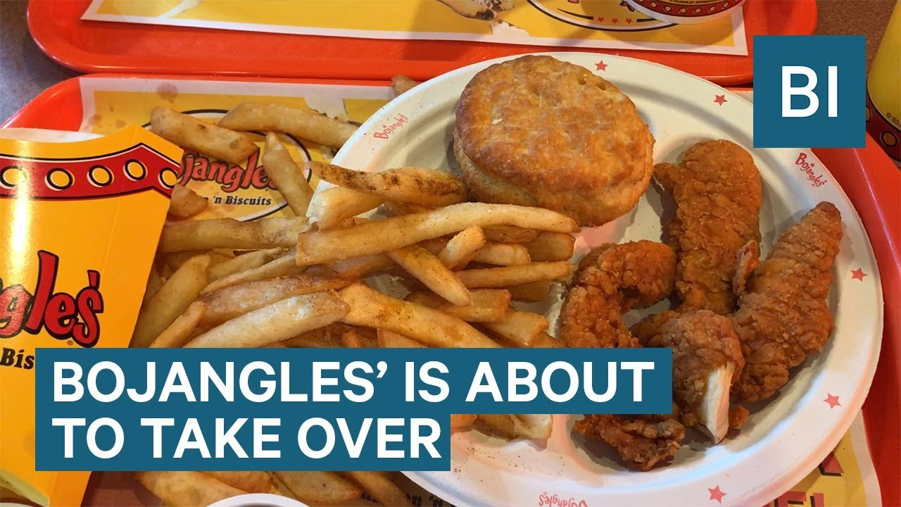 bojangles' southern fried-chicken chain is about to take over