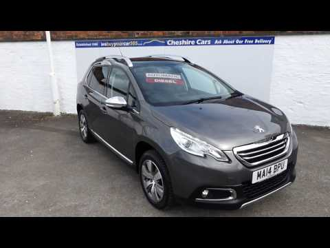 Peugeot 2008 Allure Diesel Automatic Pan Roof & Sat Nav 36900 Miles Free Uk Delivery