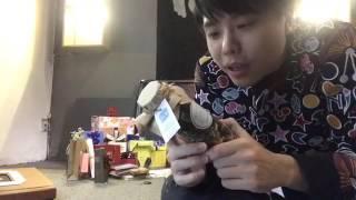 Ca sĩ Trịnh Thăng Bình khui quà Fan tặng