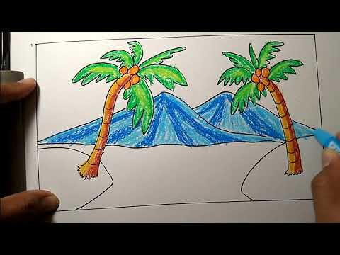Gambar Lukisan Yang Mudah Cikimm Com