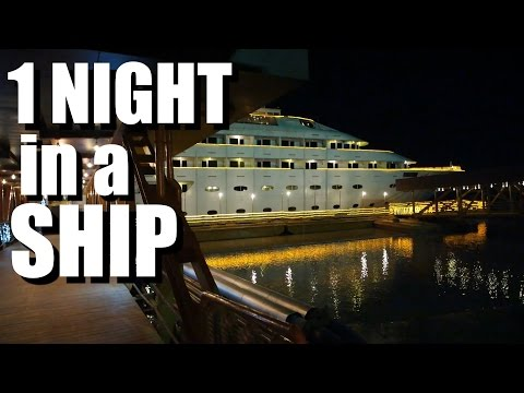 MYANMAR Hotel - staying at YANGON LUXURY SHIP!