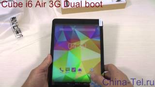 Cube i6 Air 3GDual boot (Android+Windows) tablet