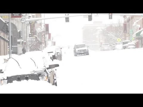 Heavy snowfall brings snow day for several schools in the Butte area