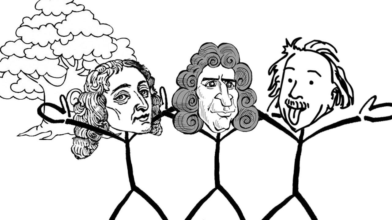 Einstein, Newton, Pascal