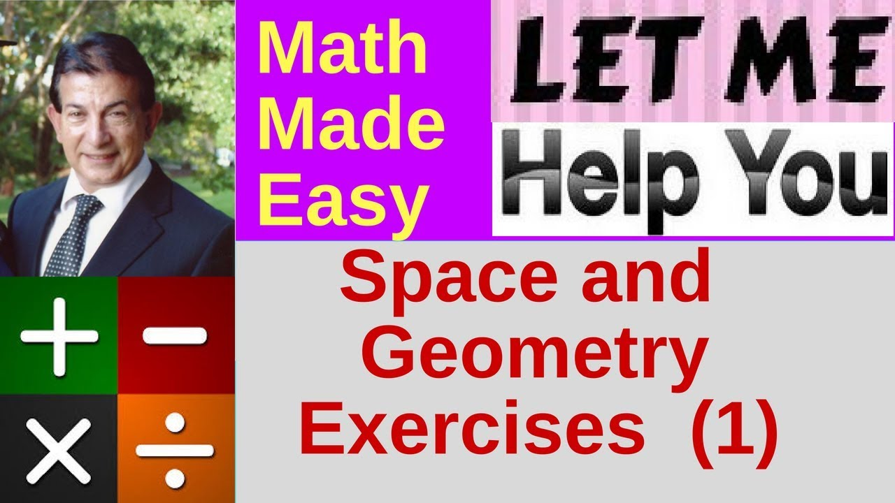 Space and Geometry Exercises - Part 1