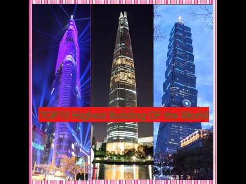 TOP 10 Tallest buildings in the World 2017|| Latest || Amazing architectures | Compilation | TOP10