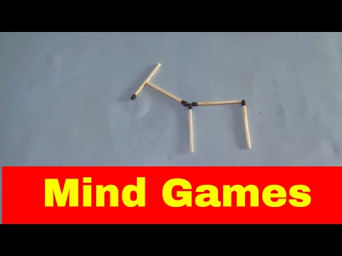Mind Game||matches Puzzle Game  || 5 Tricks With Matchsticks|| (You Will Definitely Fail, See How)
