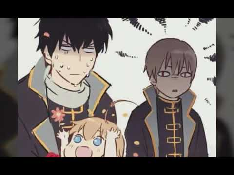 Okita & his Kid one day on Shinsengumi [Gintama] Crazy Day