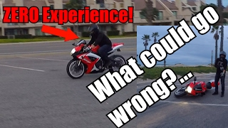Learning To Ride On A 600cc? | BIKE DOWN