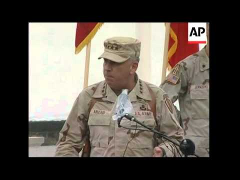 New US commander vows