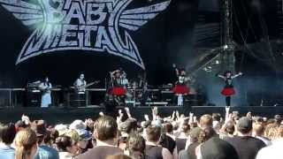 BABYMETAL - Gimme chocolate!! [HD] live