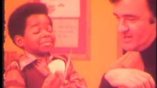 Co-worker and Gary Coleman for Hallmark Cards (1974)