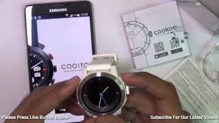 Cookoo 2 Smartwatch Unboxing, Setup, Quick Hands On Review & Features Overview