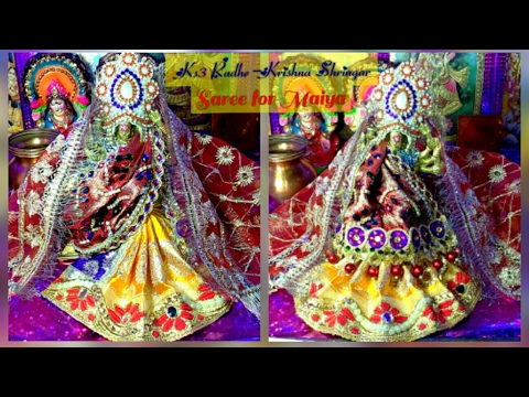 Designer Bnarsi Heavy work Saree/Lehnga saree Mata Rani/Durge Maa